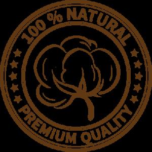 Bomullssatin av premiumkvalitet