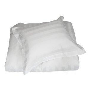 Klassiska sängkläder i bomullssatin