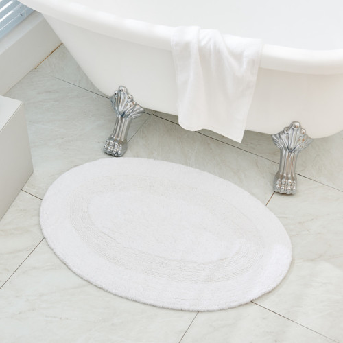 Lyxig badrumsmatta i bomull