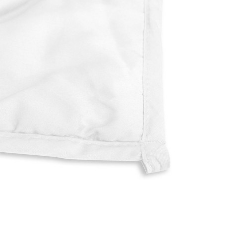 Tyngdtäcke 7 kg Vit Bomullssatin – Fritt från polyester