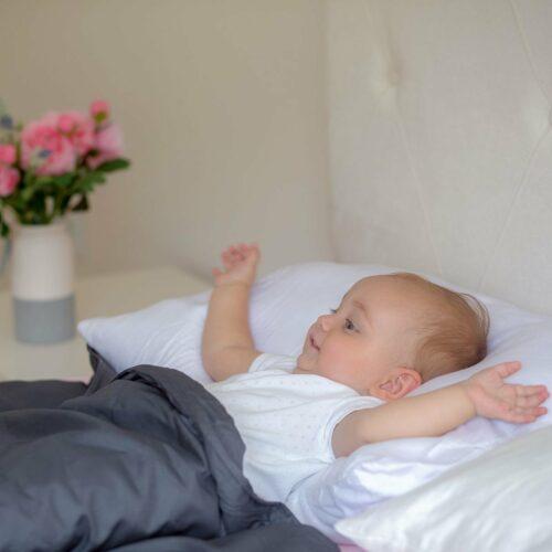 Svalt Tyngdtäcke för Barn 2,6 kg Vit Bambu – Fritt från polyester