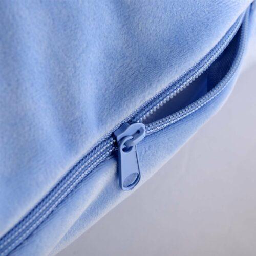 Kroppskudde Gravidkudde Estelle Blå Velour