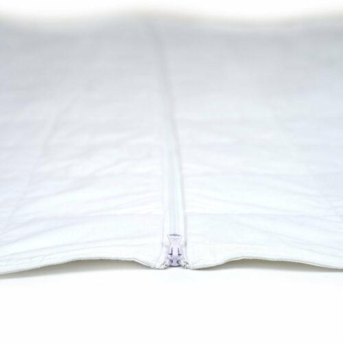 Beckasin Tyngdtäcke King Size Vit Bomullssatin – Fritt från polyester
