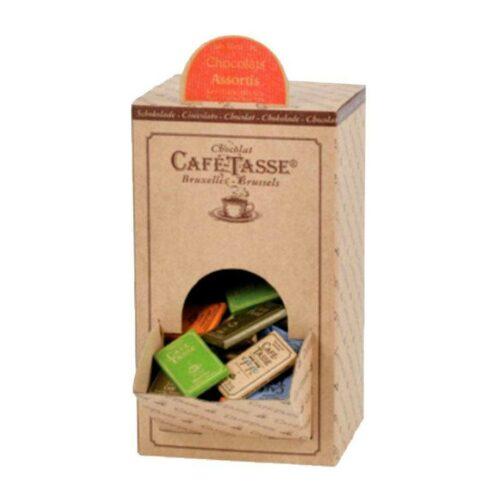Kafé-Tasse Mini chokladkaka, mixade sorter, 9 g (80 st)